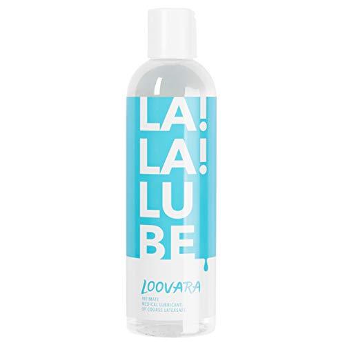 Loovara LA!LA!LUBE – gefühlsechtes Gleitgel wasserbasierend (250 ml) Vegan, natürlich, dermatologisch getestet, kondomsicher I Made in EU
