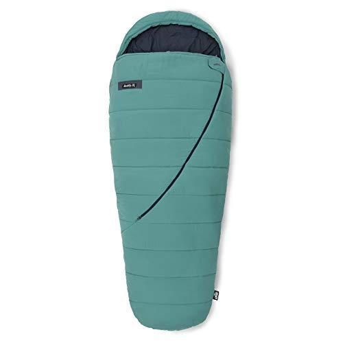 Qeedo Buddy XL Schlafsack, Mumie in Eiform, 240x100cm (LxB) - grün