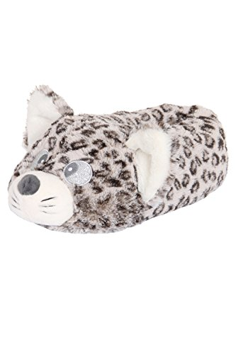 Loungeable Boutique, Damen Kuschelig Neuheit Tier Pantoffeln - Cally Cutie Katze, 3/4 UK