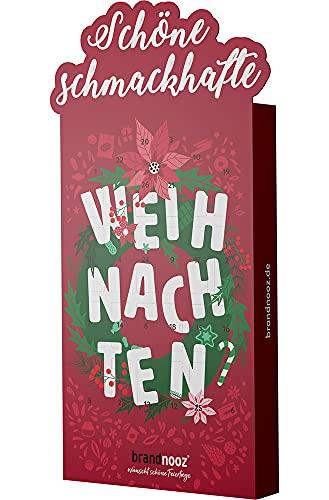 brandnooz - Riesen Weihnachts XXL Adventskalender | 24+2 Überraschungsmomente | 24+2 Markenprodukte für Kleine und Erwachsene