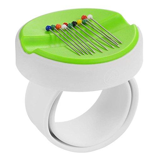 BabySnap Magnetnadelkissen Armband grün Armnadelkissen