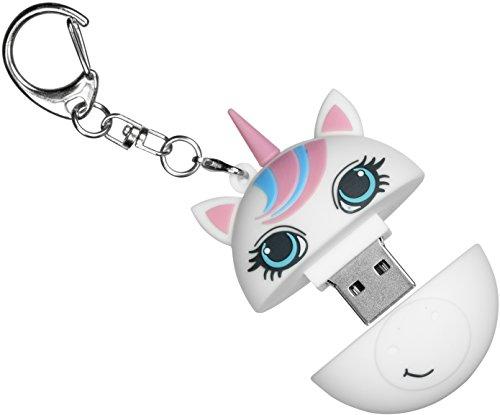 My doodles-chiavetta 8GB USB mit Schlüsselanhänger, Motiv: Alien 8 gb CRUK - Unicorn