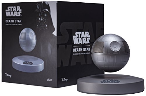 Plox PLX-SW-DS Star Wars Death-Star Schwebender Bluetooth Lautsprecher anthrazit
