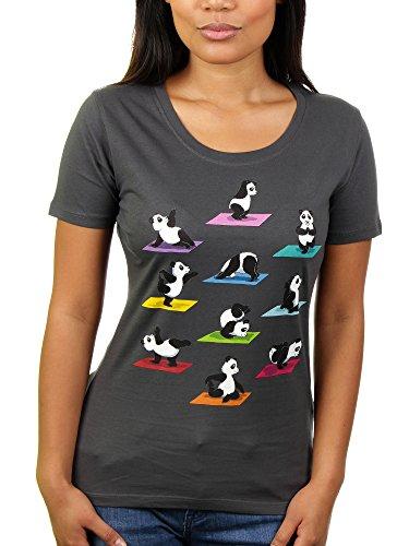 The Panda Yoga - Damen T-Shirt von KaterLikoli