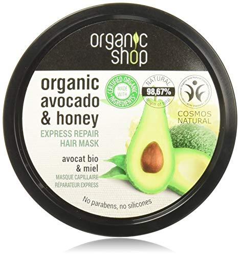 Organic Shop, Hair Mask Express Repair Avocado and Honey, Bianco, Honig, 250 ml