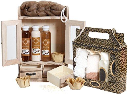 15-teiliges BRUBAKER Beauty Geschenkset 'Kokosnuss & Vanilla'