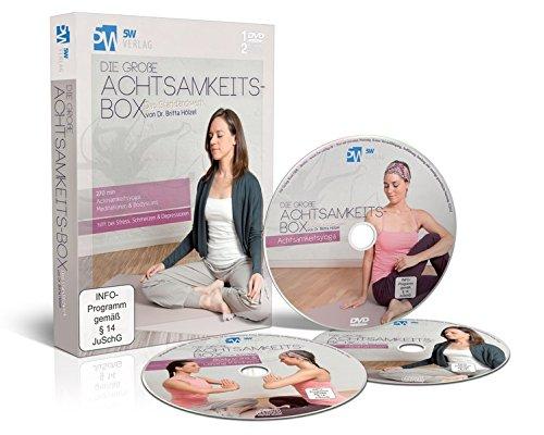 Die große Achtsamkeits-Box (hilft bei Stress, Schmerzen & Depressionen - 1 DVD Achtsamkeitsyoga, 2 CDs Meditationen & Bodyscans)