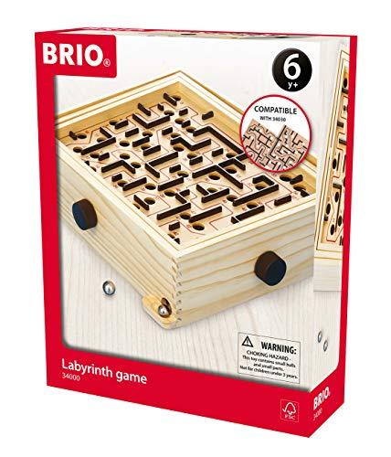 BRIO 34000 Labyrinth - Der schwedische Geschicklichkeits-Klassiker - Für Kinder ab 6 Jahren