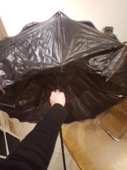 Testbericht Regenschirm mit tollem Effekt
