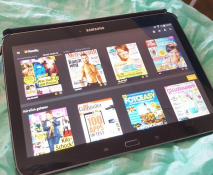 Spare Geld und Papier. Wie du 2000 Magazine für unter 10€ im Monat lesen kannst. Mein Erfahrungsbericht über die App Readly.