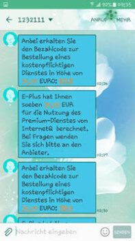 SMS mit Bezahlcodes dm-Produkttester App | Ich wurde Opfer einer fiesen Betrügermasche und will so viele wie möglich vor diesem Betrug durch eine Fake dm Produkttester App warnen.