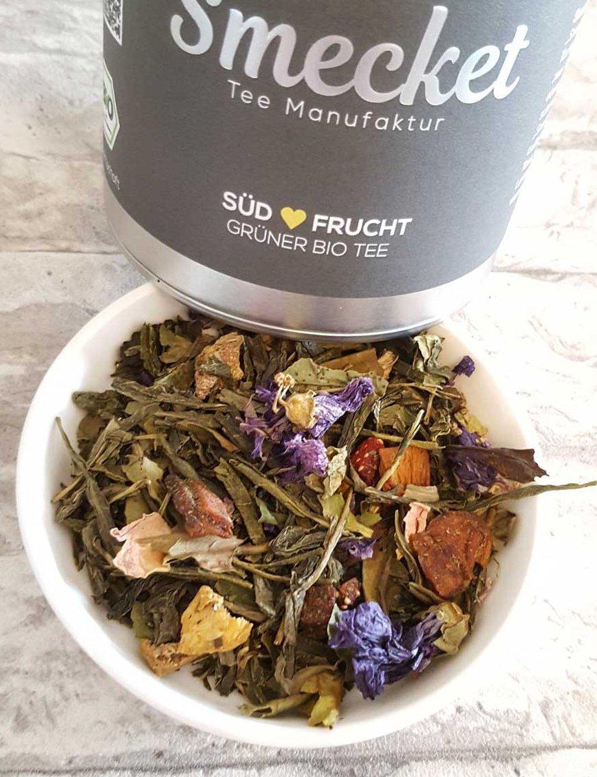 Produkttest-Smecket-Südfrucht-Grüner-Tee