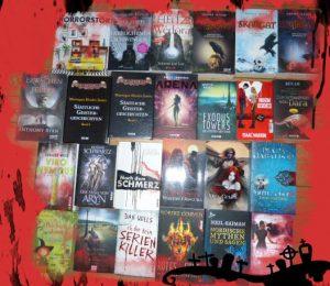 All Hallows Read Bloggeraktion | AllHallowsRead_AlleTitel